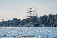 Amsterdam, Netherlands - August 20: SAIL Amsterdam 2015 the biggest sail event in the world. Amsterdam, Netherlands - August 20: SAIL Amsterdam 2015 is an Royalty Free Stock Image