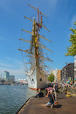 Amsterdam, Netherlands - August 20: SAIL Amsterdam 2015 the biggest sail event in the world. Amsterdam, Netherlands - August 20: SAIL Amsterdam 2015 is an Royalty Free Stock Photos