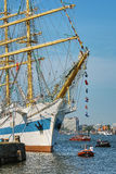 Amsterdam, Netherlands - August 20: SAIL Amsterdam 2015 the biggest sail event in the world. Amsterdam, Netherlands - August 20: SAIL Amsterdam 2015 is an Stock Photos