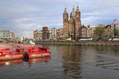 Saint Nicholas church in Amsterdam, Holland Stock Photos