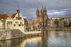 Saint Nicholas church in Amsterdam, Holland Stock Image