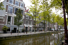 AMSTERDAM; THE NETHERLANDS - AUGUST 18; 2015: View on beautiful Stock Image