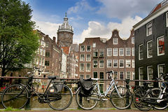 AMSTERDAM, THE NETHERLANDS - AUGUST 19, 2015: View on Saint Nich Stock Photography