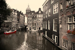 AMSTERDAM, THE NETHERLANDS - AUGUST 18, 2015: View on Saint Nich Stock Photos