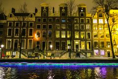 Amsterdam, Netherlands - December 24, 2017 - Floating on a thousand memories Royalty Free Stock Image