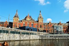 Amsterdam, Netherlands, Europe and historical buildings royalty free stock photo