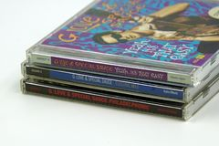 Compact Disc CD Albums from G. Love & Special Sauce. stock photos