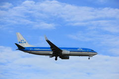Amsterdam, the Netherlands, July, 15th 2016: PH-BXB KLM Boeing 737 Stock Image
