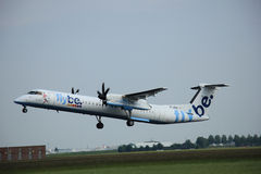 Amsterdam, The Netherlands - June 12 2015: G-JECL Flybe De Havil Stock Image