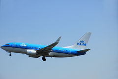 Amsterdam, The Netherlands - June 12 2015: PH-BGU KLM Boeing 737 Stock Image
