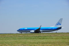 Amsterdam, The Netherlands - June 12 2015: PH-BXH KLM Royal Dutc Royalty Free Stock Photos