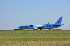 Amsterdam, The Netherlands - June 12 2015: PH-TFC Arke Boeing 73 Royalty Free Stock Photography