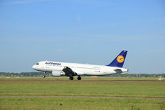 Amsterdam, the Netherlands - June 9th 2016: D-AIZD Lufthansa Air Stock Image