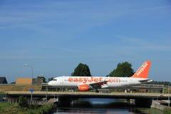 Amsterdam, the Netherlands - June 9th 2016: HB-JZY easyJet Switz Stock Photos