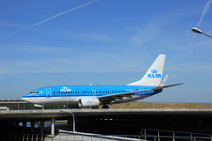 Amsterdam, the Netherlands - June 9th 2016: PH-BGL KLM Royal Dut Stock Photography
