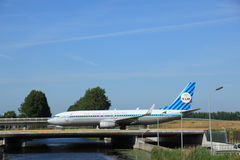 Amsterdam, the Netherlands - June 9th 2016: PH-BXA KLM Boeing re royalty free stock photo