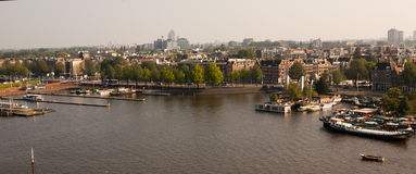 Amsterdam The Netherlands Lanscape Royalty Free Stock Photography