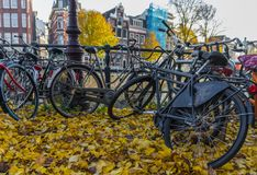 The wonderful Old Town of Amsterdam, Netherlands royalty free stock images