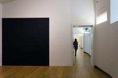 Amsterdam, Netherlands - May 6, 2015: People visit Stedelijk Musem in Amsterdam Stock Photo