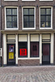 Amsterdam. NETHERLANDS - MAY, 16, 2017: Red Light Radio is an online radio station broadcasting from a former prostitution window in the red light district of Stock Photos