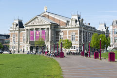 Amsterdam. NETHERLANDS - MAY, 15, 2017: The Royal Concertgebouw is a concert hall in , Netherlands Stock Photography