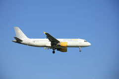 Amsterdam the Netherlands - May 6th 2016: EC-KDX Vueling Airbus Royalty Free Stock Photography