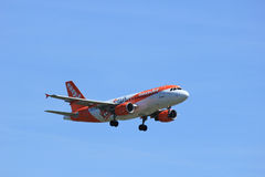 Amsterdam, the Netherlands - May 5th 2016: G-EZDW easyJet Airbus stock image