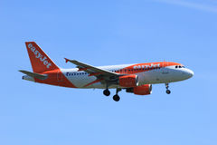 Amsterdam the Netherlands - May 5th 2016: G-EZDY easyJet Airbus Royalty Free Stock Images