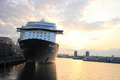 Amsterdam, The Netherlands - May 11th 2017: Mein Schiff 3 TUI Cruises Stock Photos