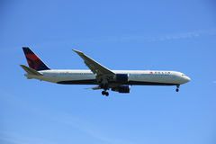 Amsterdam the Netherlands - May 5th 2016: N837MH Delta Air Lines Royalty Free Stock Image