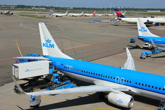 Amsterdam The Netherlands -  May 26th 2017: PH-BXG KLM Boeing 737 Stock Image