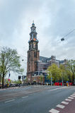 Amsterdam, Netherlands - May 6, 2015: Westerkerk (Western Church) in Amsterdam Stock Image