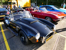 Amsterdam, The Netherlands - September 10, 2016: Black Cobra replica Dax 1993 Royalty Free Stock Images