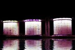 amsterdam netherlands storage tanks Στοκ φωτογραφία με δικαίωμα ελεύθερης χρήσης