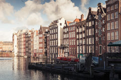Amsterdam, Netherlands. Street view Royalty Free Stock Images