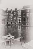 Amsterdam, Netherlands - vintage photo Stock Photo