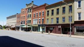 Amsterdam New York Ghost Town Royalty Free Stock Images
