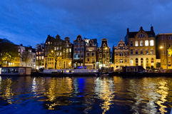Amsterdam. OCTOBER 22, 2013: Canals on October 22, 2013 in . , capital of the Netherlands has more than one hundred kilometres of canals, about 90 islands and Stock Photos