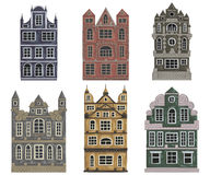 Free Amsterdam. Old Historic Buildings And Houses. Traditional European Architecture. Royalty Free Stock Photos - 86373378