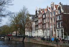 Amsterdam Old Town Stock Images