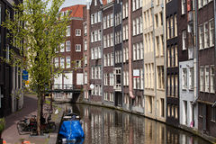 Amsterdam Old Town Royalty Free Stock Images
