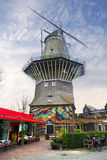 Amsterdam. Old windmill. Stock Photography