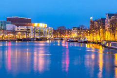 Amsterdam Opera House Royalty Free Stock Photography
