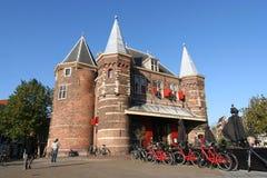 Amsterdam pèsent la Chambre Images libres de droits