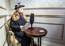 AMSTERDAM, PAÍSES BAJOS - 21 DE ENERO: Encere a las personas famosas del museo de señora Tussaud el 21 de enero de 2015 en Amster Fotografía de archivo