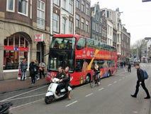 Amsterdam, Paesi Bassi Fotografie Stock Libere da Diritti