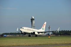 Amsterdam, Pays-Bas - août, 2016 18ème : CN-RNR Royal Air Maroc Photos stock