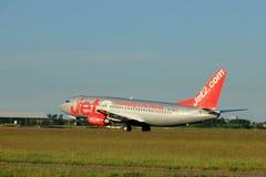 Amsterdam, Pays-Bas - 1er juin 2017 : G-CELY Jet2 Boeing 737-300 Image libre de droits