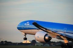Amsterdam, Pays-Bas - 1er juin 2017 : Lignes aériennes Boeing de PH-BVS KLM Royal Dutch Photos stock
