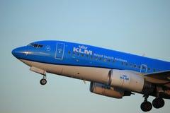 Amsterdam, Pays-Bas - 1er juin 2017 : Lignes aériennes de PH-BGI KLM Royal Dutch Photo libre de droits